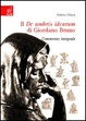 Cover of Il De umbris idearum di Giordano Bruno
