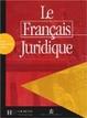 Cover of Le français juridique