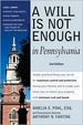 Cover of A Will Is Not Enough in Pennsylvania