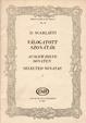 Cover of Válogatott szonáták