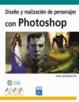 Cover of Diseño y realización de personajes con Photoshop