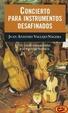 Cover of Concierto para instrumentos desafinados