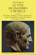 Cover of Le vite di Lisandro e di Silla