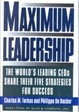 Cover of Maximum Leadership