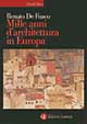 Cover of Mille anni d'architettura in Europa