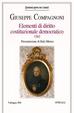 Cover of Elementi di diritto costituzionale 1797