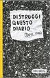 Cover of Distruggi questo diario (dove vuoi)