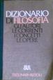 Cover of Dizionario di filosofia