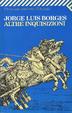 Cover of Altre inquisizioni