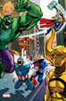 Cover of Avengers n. 20 - Variant Daniele Caluri