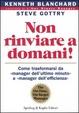Cover of Non rinviare a domani!