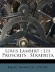 Cover of Louis Lambert; Les Proscrits; Séraphit