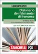 Cover of Dizionario dei falsi amici di francese