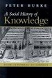 Cover of A Social History of Knowledge