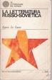 Cover of La letteratura russo-sovietica