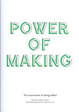 Cover of Power of Making