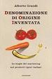 Cover of Denominazione di origine inventata