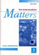 Cover of Pre-Intermediate Matters