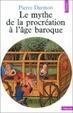 Cover of Le mythe de la procréation à l'âge baroque