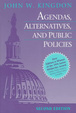 Cover of Agendas, alternatives, and public policies