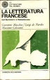 Cover of La letteratura francese