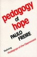 Cover of Pedagogy of Hope