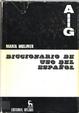 Cover of Diccionario de uso del español