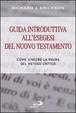 Cover of Guida introduttiva all'esegesi del Nuovo Testamento