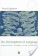 Cover of The development of language
