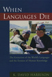 Cover of When Languages Die