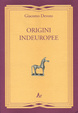 Cover of Origini Indeuropee