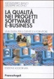 Cover of La qualità nei progetti software e e-business