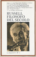 Cover of Bertrand Russell, filosofo del secolo