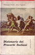 Cover of Dizionario dei proverbi italiani