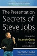 Cover of The Presentation Secrets of Steve Jobs: How to Be Insanely Great in Front of Any Audience