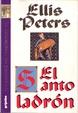 Cover of El santo ladrón