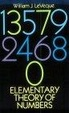 Cover of Elementary Theory of Numbers