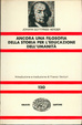 Cover of Ancora una filosofia della storia per l'educazione dell'umanità