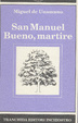 Cover of San Manuel Bueno, martire