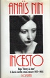 Cover of Incesto