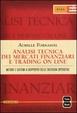 Cover of Analisi tecnica dei mercati finanziari e trading on line