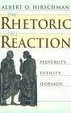 Cover of The Rhetoric of Reaction