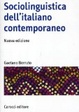 Cover of Sociolinguistica dell'italiano contemporaneo