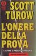 Cover of L'onere della prova