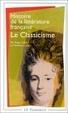 Cover of Histoire de la litterature française - le classicisme