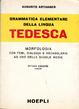 Cover of Grammatica elementare della lingua tedesca