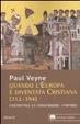 Cover of Quando l'Europa è diventata cristiana (312-394)