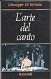 Cover of L'arte del canto