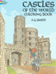 Cover of Castles of the World Coloring Book