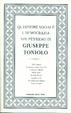 Cover of Questione sociale e democrazia nel pensiero di Giuseppe Toniolo